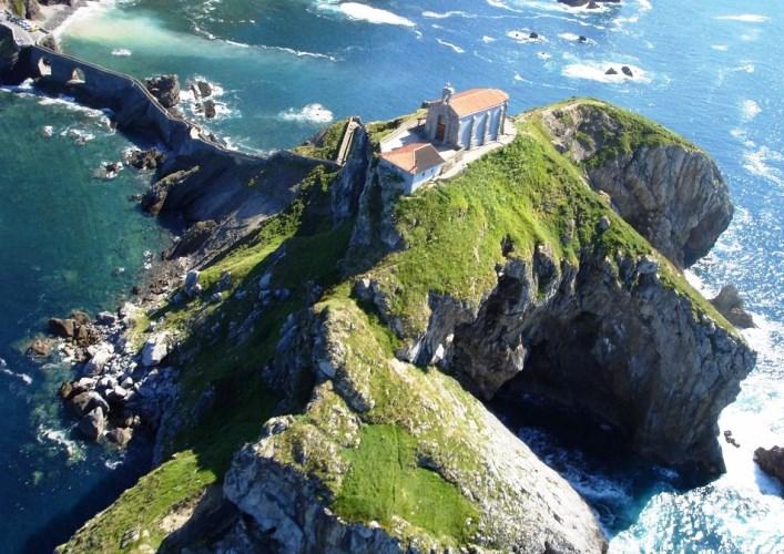 Остров Сан Хуан де Гастелугаче или путешествие по Европе 5