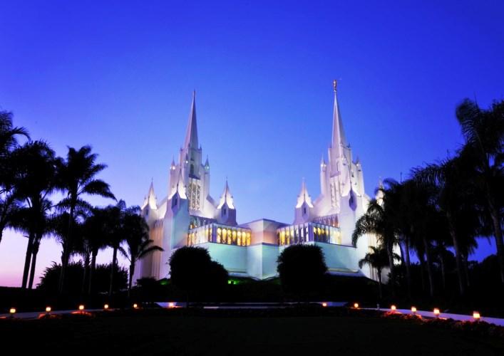 Храм мормонов Сан-Диего и другие достопримечательности Америки 5