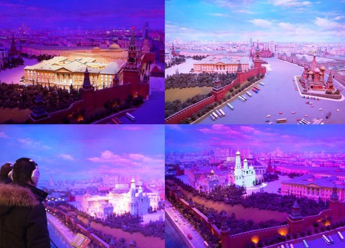 Диорама Кремля 2