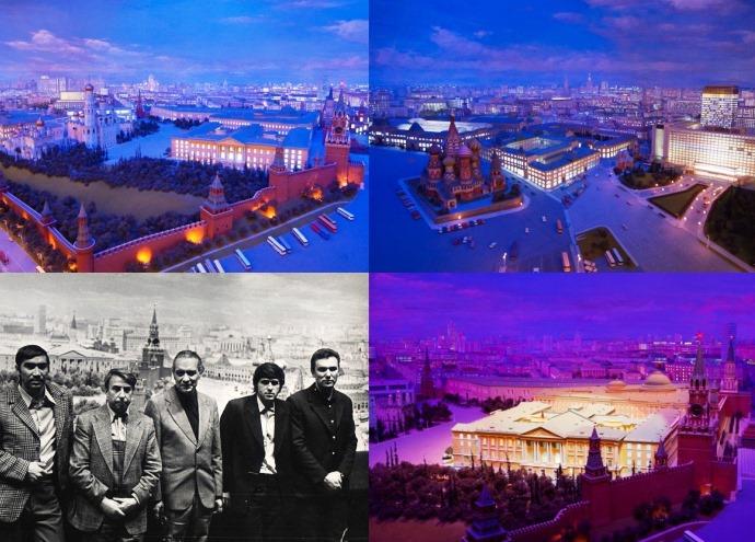 Диорама Кремля 4