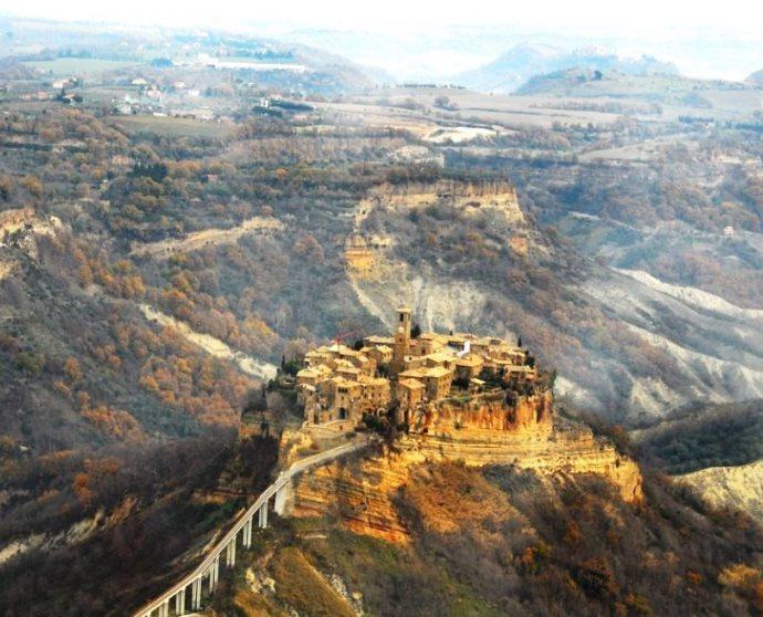 Город древних славян Чивита ди Баньореджо 2