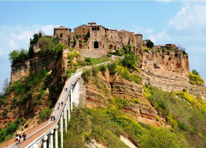 Город древних славян Чивита ди Баньореджо 3