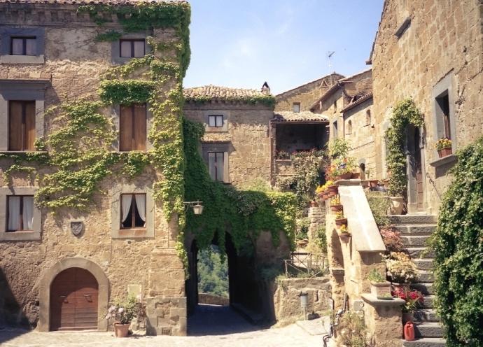 Город древних славян Чивита ди Баньореджо 5