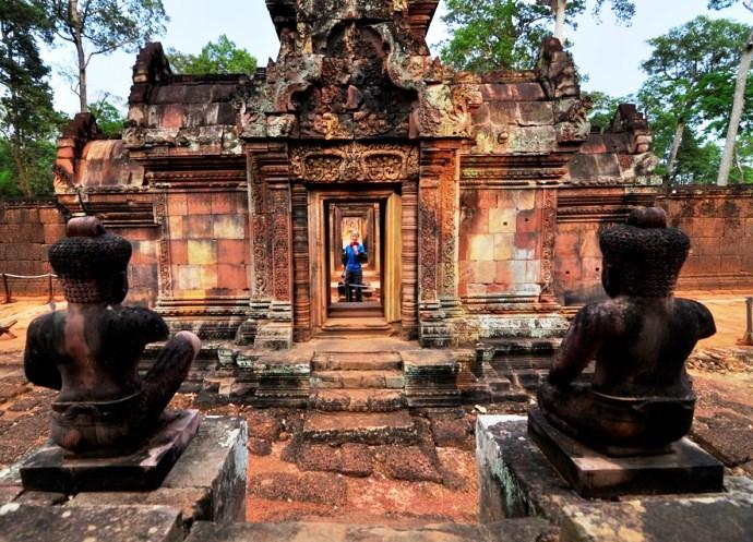 Непостижимая Азия храмовый комплекс Бантеайсрей Камбоджа 5