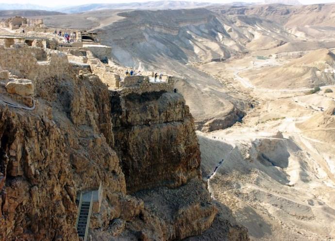 Отдых в Израиле крепость Массад 2