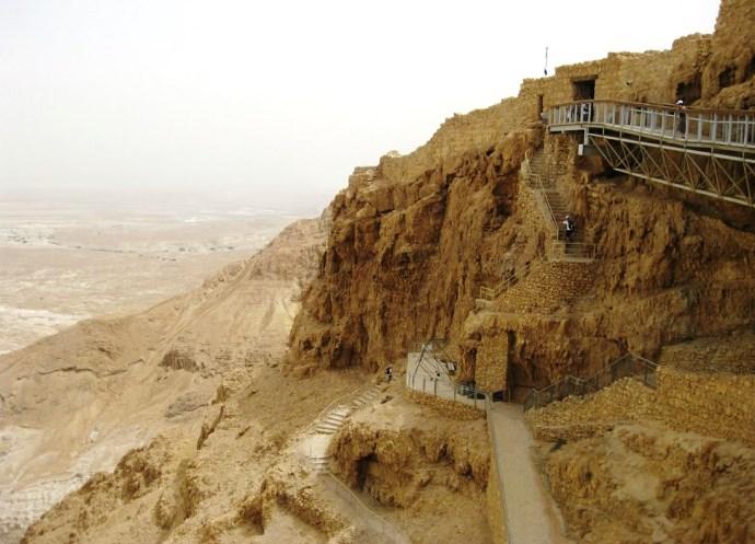 Отдых в Израиле крепость Массад 3