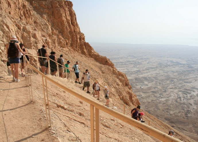 Отдых в Израиле крепость Массад 4