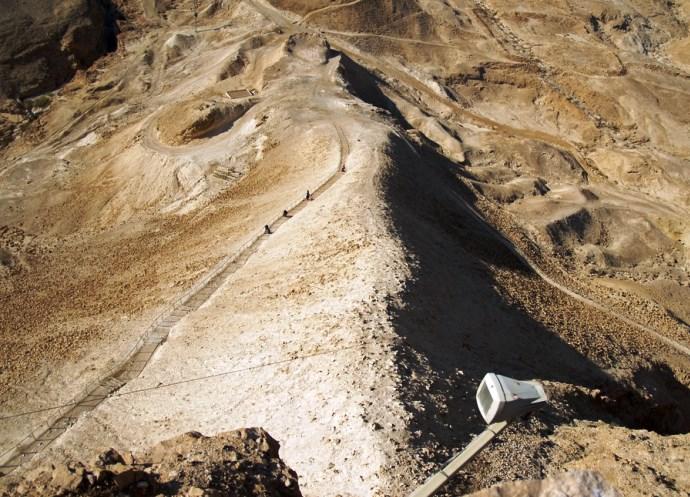 Отдых в Израиле крепость Массад 5