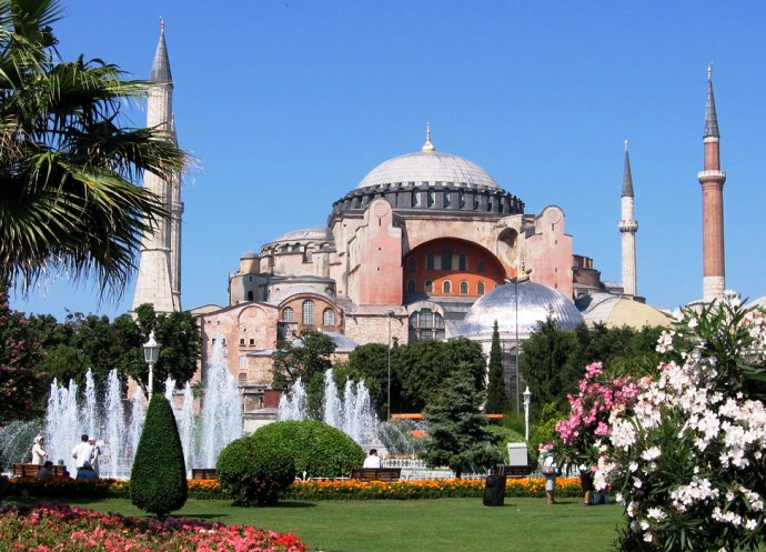 Отдых в Турции Храм Святой Софии 3