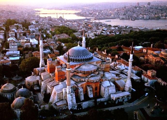 Отдых в Турции Храм Святой Софии 5