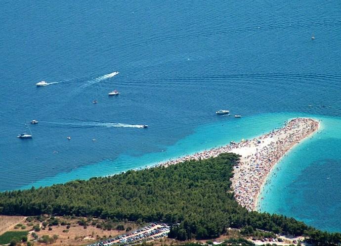 Популярный отдых в Европе Хорватия пляж Золотой Рог 4