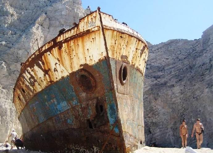 Самый запоминающийся отдых в Греции Бухта Контрабандистов   пляж Навагио 4
