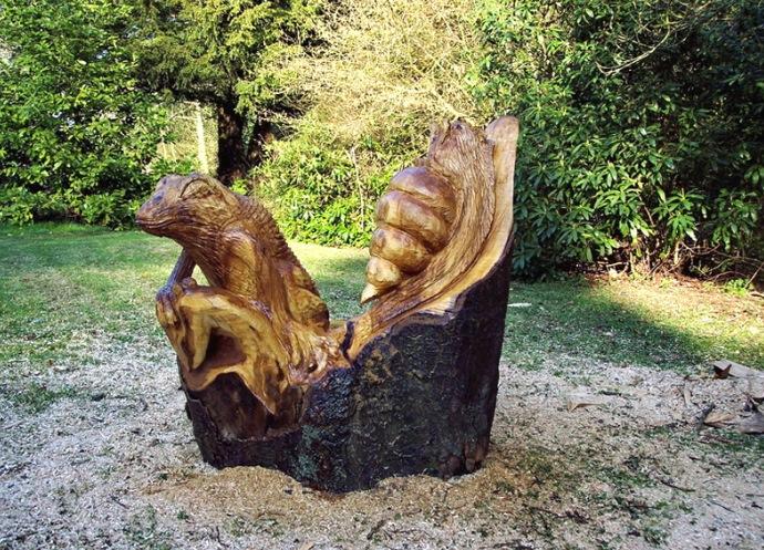 Деревянные скульптуры 3