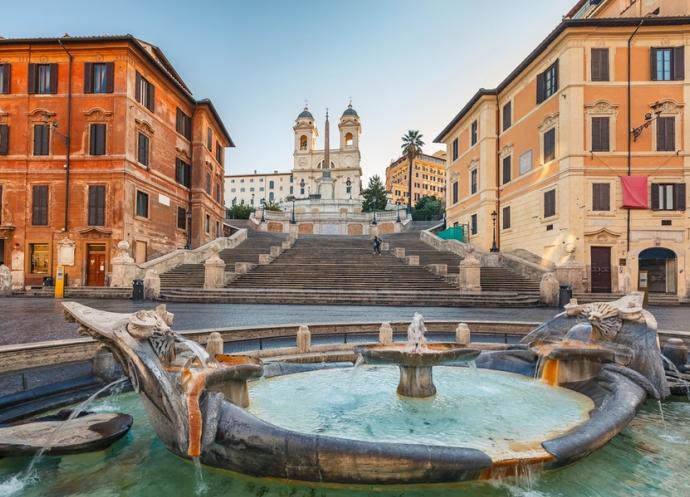 Путешествие в Вечный город римские отели и главные достопримечательности 4