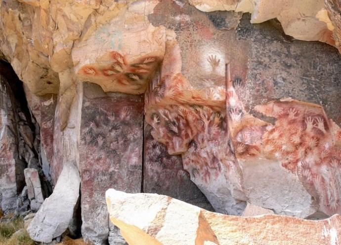 Пещера рук 3