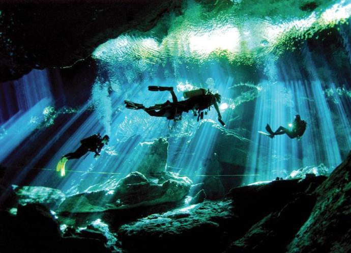 Подводные пещеры 4