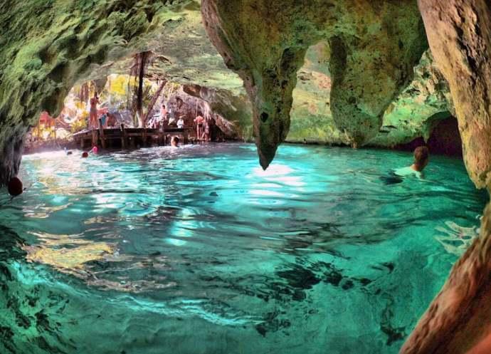 Подводные пещеры 5
