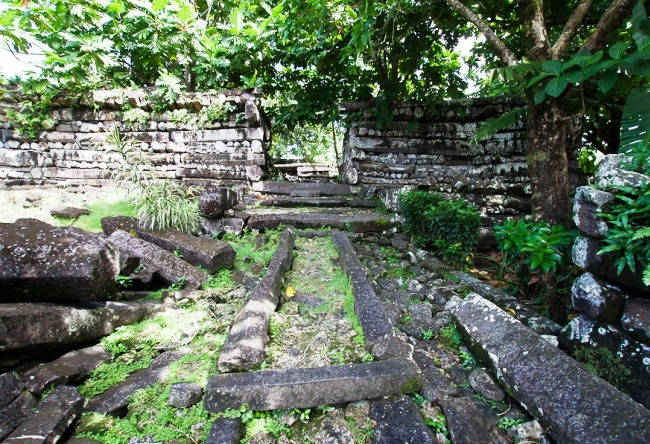 Древние города Каролинских островов  Нан-Мандол 3
