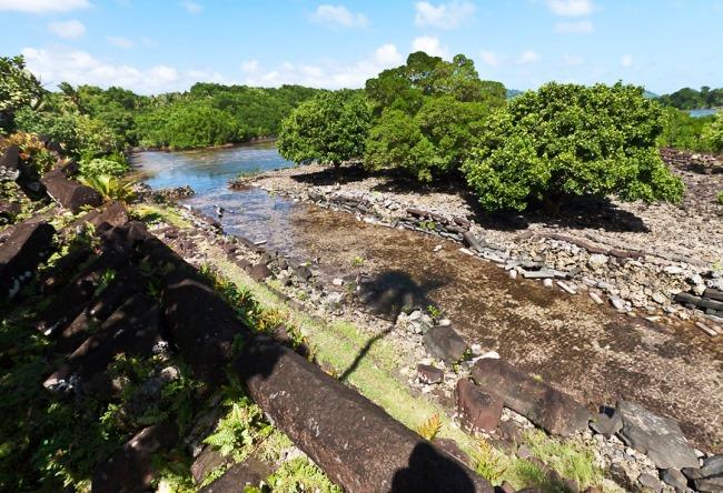 Древние города Каролинских островов  Нан-Мандол 5