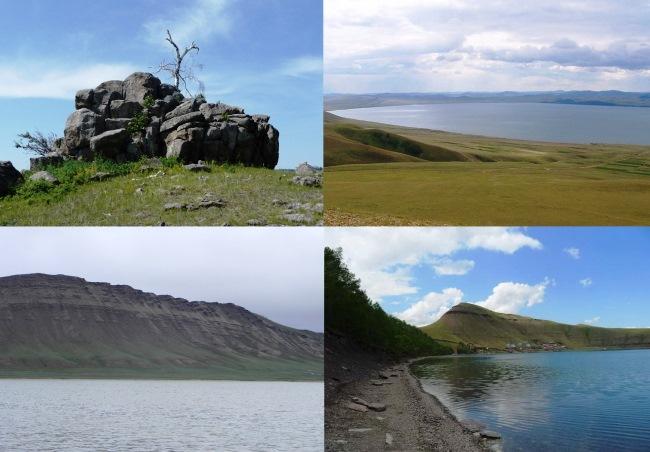 Мегалиты озера Шира 4