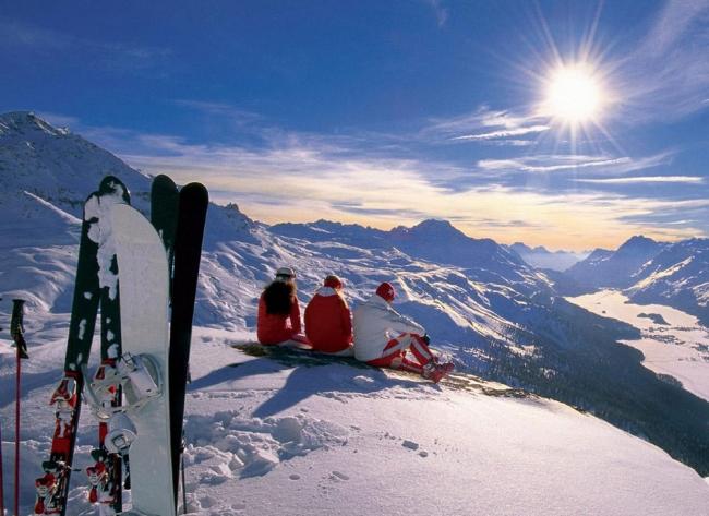 Вся Европа отдыхает в Альпах 5