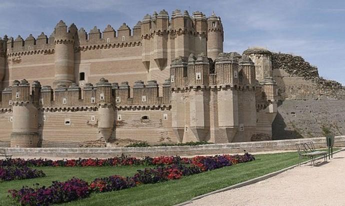 Европа Испания  замок Кока 2