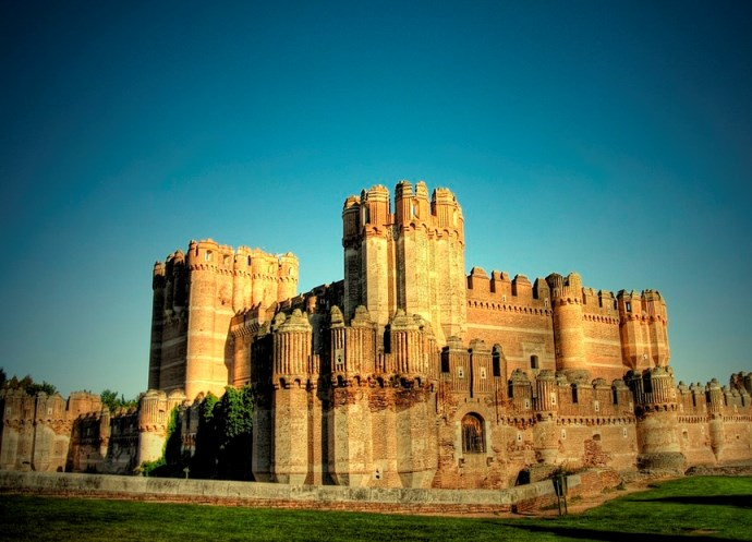 Европа Испания  замок Кока 3