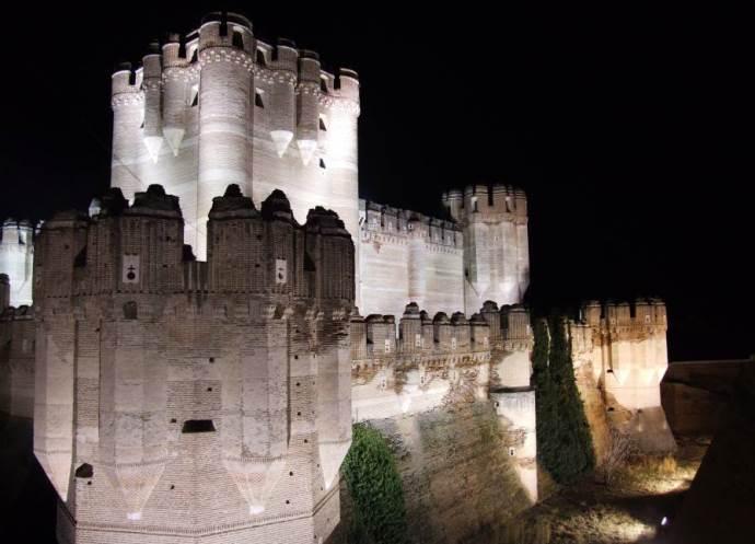 Европа Испания  замок Кока 4