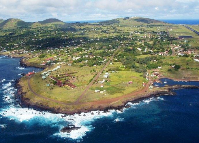 Истуканы с острова Пасхи и Южная Америка 4