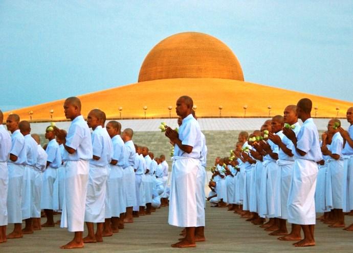 Неизвестная Азия буддийский храм Wat Phra Dhammakaya 2