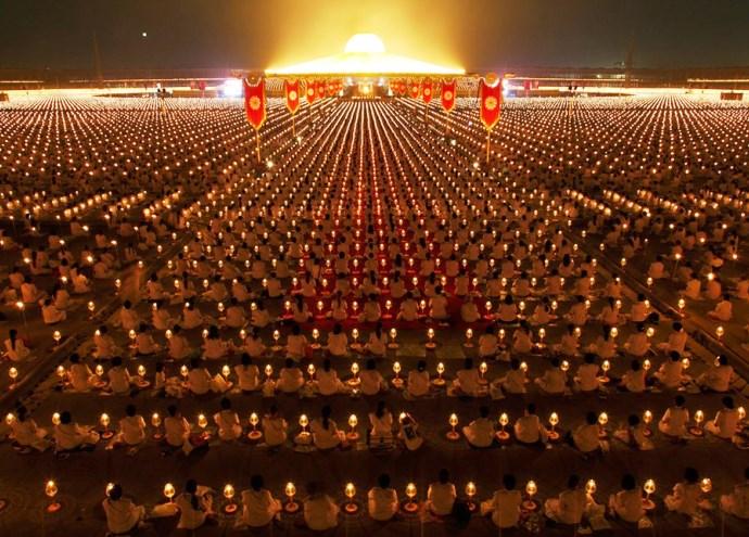 Неизвестная Азия буддийский храм Wat Phra Dhammakaya 4