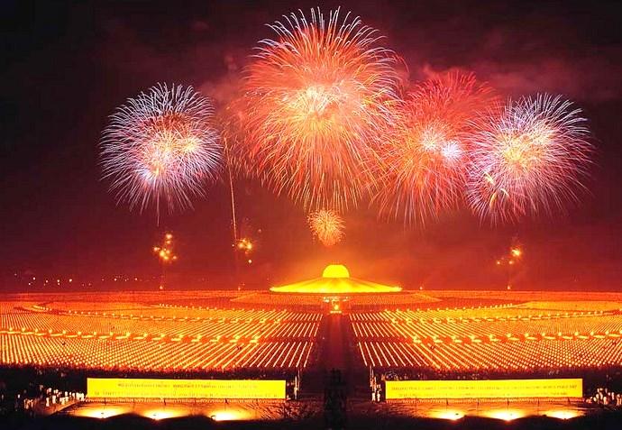Неизвестная Азия буддийский храм Wat Phra Dhammakaya 5