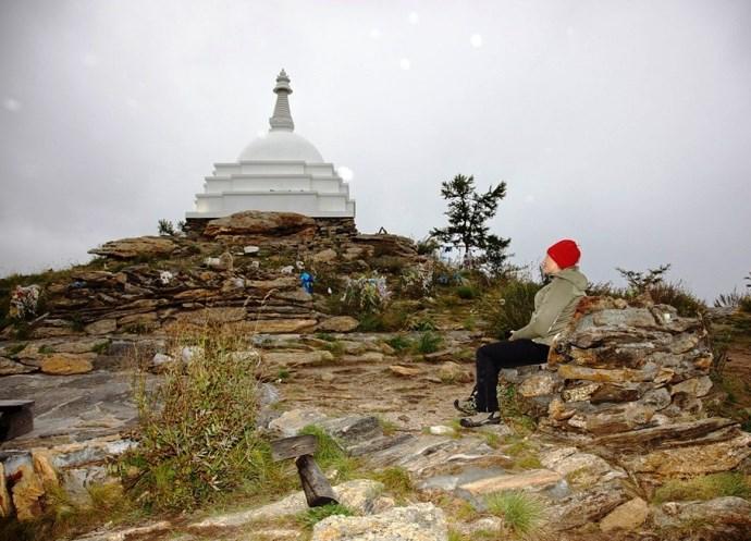 Российская Азия буддийская святыня острова Огой 2
