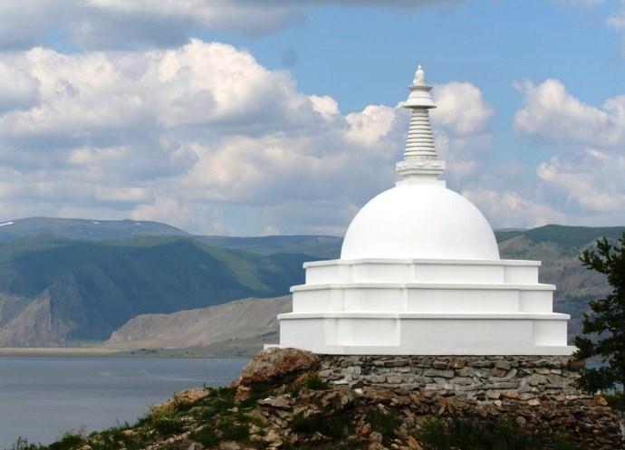 Российская Азия буддийская святыня острова Огой 4