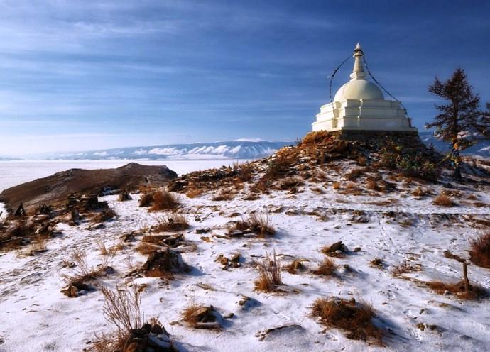 Российская Азия буддийская святыня острова Огой 5