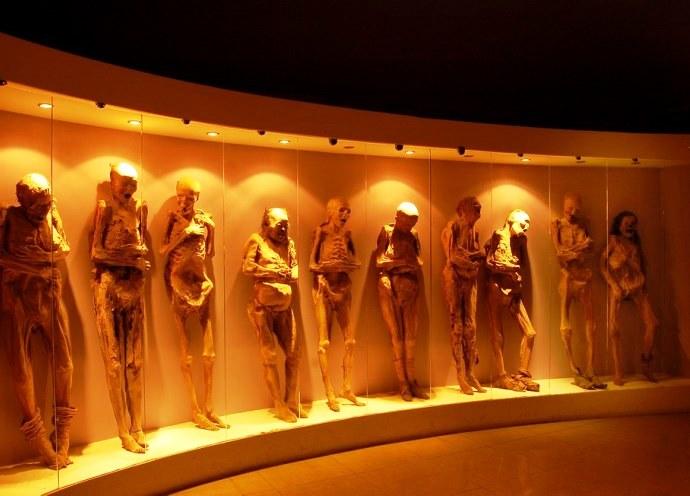 Северная Америка Музей мумий Гуанахуато 2