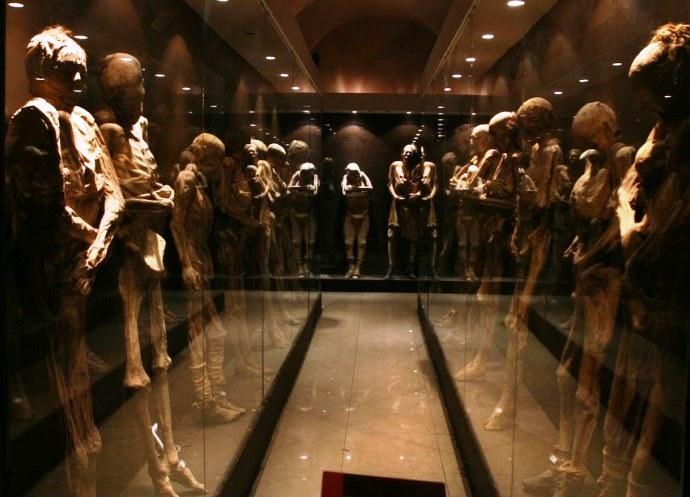 Северная Америка Музей мумий Гуанахуато 3