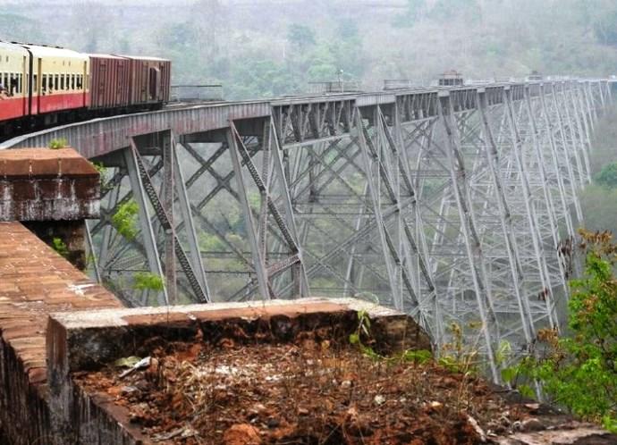 Юго-Восточная Азия Бирма. Мост Готейк незабываемые эмоции 5