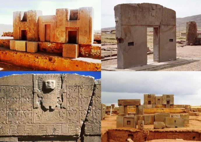 Древние города Америки  Пума Пунку 4