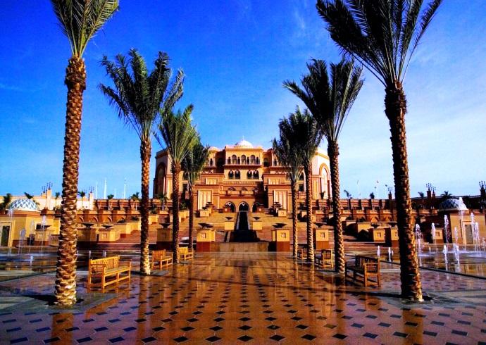 Абу-Даби одна из жемчужин ОАЭ 4