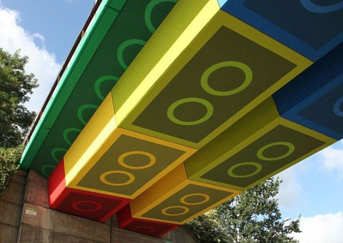 Путешествие в детство Лего-мост от Megx 2