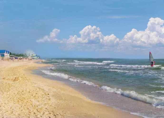 Туризм и отдых на Азовском море базы отдыха в Кирилловке 4