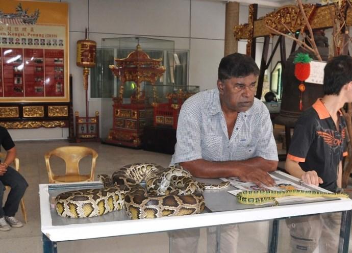 Чарующая Азия Змеиный храм Сунгай Клуанге 2