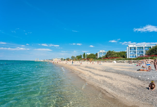 Город Саки отдых в санатории Полтава-Крым 3