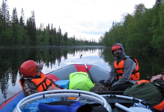 Мир туризма или путешествия на моторной лодке 4