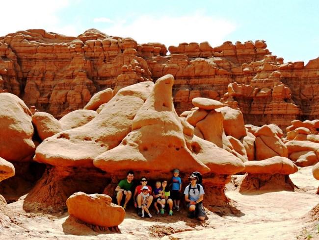 Путешествие по Америке долина каменных гоблинов 3