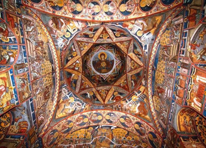 Европа и ее достопримечательности монастырь Молдовица 2