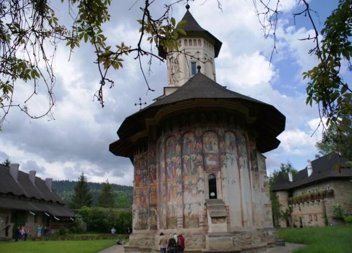 Европа и ее достопримечательности монастырь Молдовица 3