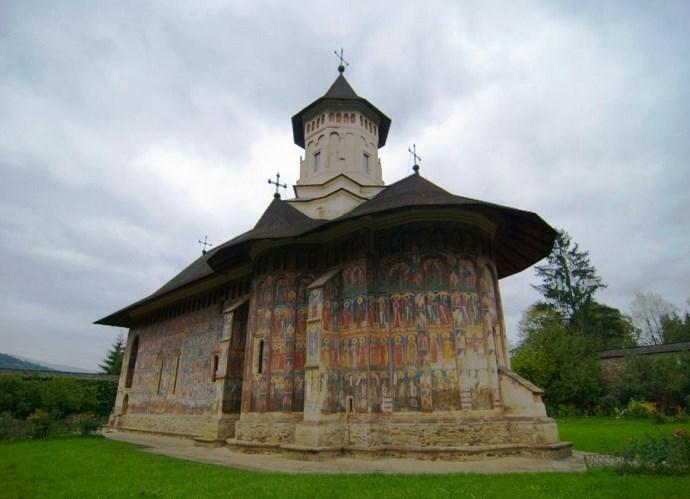 Европа и ее достопримечательности монастырь Молдовица 5
