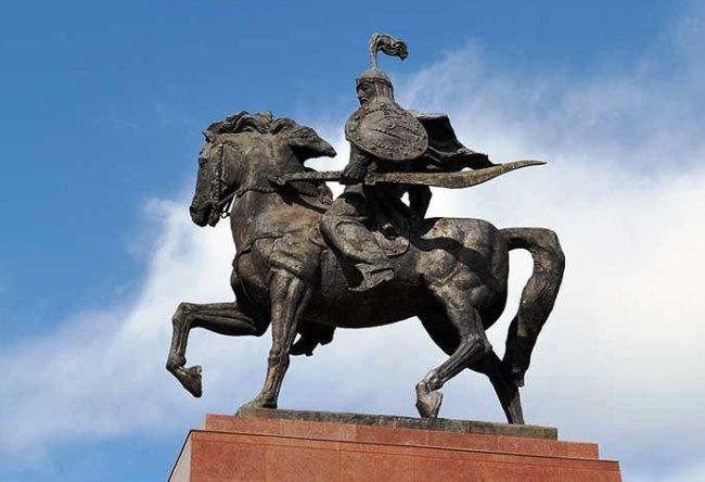 Бишкек в центре Чуйской долины 2